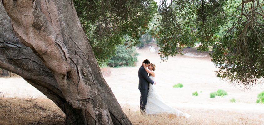 Bride and groom at a Carmel destination wedding by wedding planner Mango Muse Events and Passport to Joy