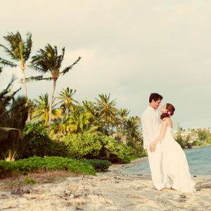 Beach wedding in Hawaii by Destination wedding planner Mango Muse Events creator of Passport to Joy