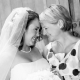 Mother daughter moment at wine country wedding by Destination wedding planner Mango Muse Events creator of Passport to Joy