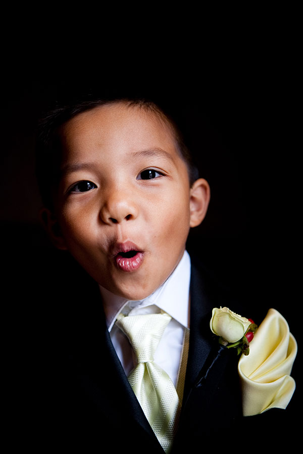 Ring bearer in a rented tux for a San Francisco wedding by Destination wedding planner Mango Muse Events creator of Passport to Joy