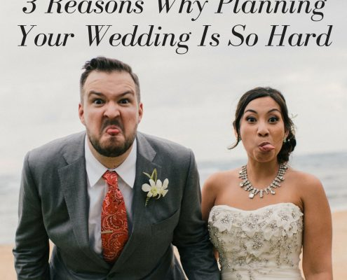 3 reasons why planning your wedding is so hard by destination wedding planner Mango Muse Events creator of Passport to Joy