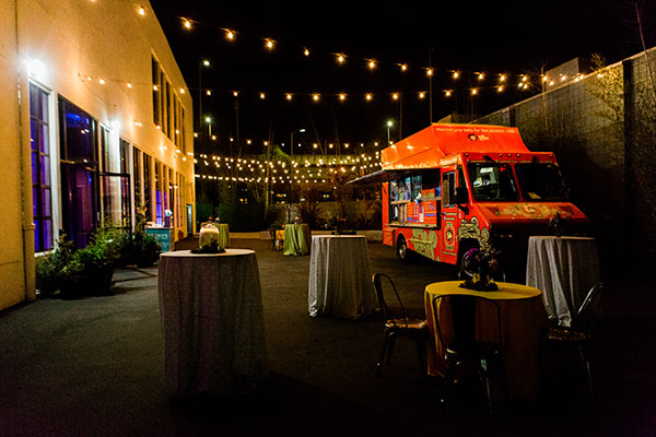 Food truck wedding reception meal by destination wedding planner Mango Muse Events and creator of Passport to Joy the online wedding planning course for couples