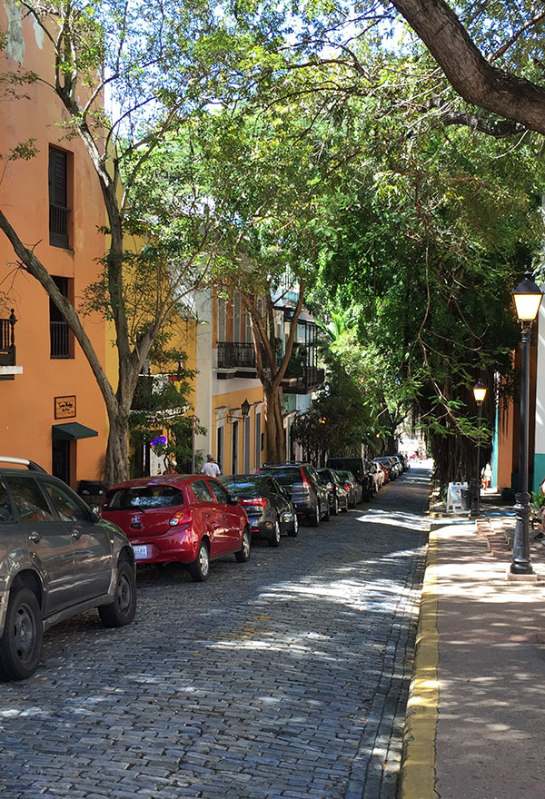 Puerto Rico old San Juan neighborhood a budget friendly destination wedding location by destination wedding planner Mango Muse Events creator of Passport to Joy the online wedding planning course for couples