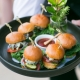 Sliders comfort food wedding meal for a destination wedding by destination wedding planner Mango Muse Events creator of Passport to Joy the online wedding planning course for couples