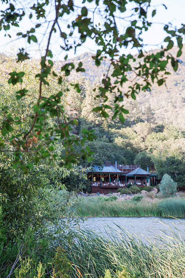 Restaurant and lake at Calistoga Ranch a beautiful secluded wedding venue and honeymoon location in Napa by destination wedding planner Mango Muse Events creator of Passport to Joy, the online wedding planning course for couples
